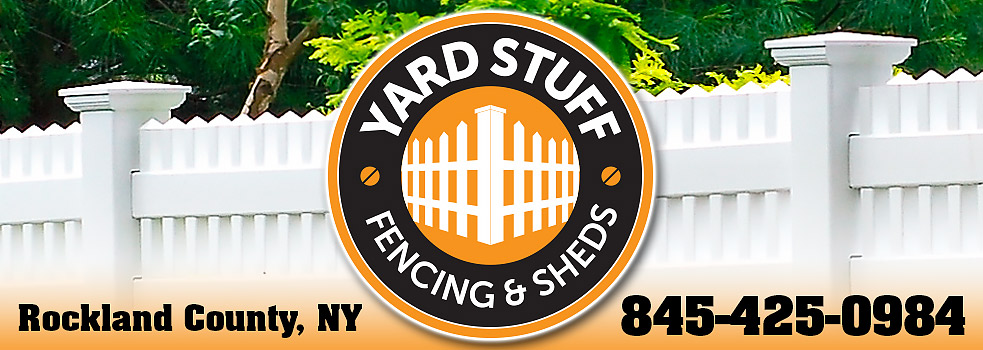 the yard stuff fence and shed installation